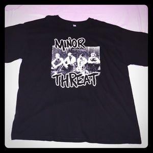Minor Threat XXL T-shirt Punk Rock
